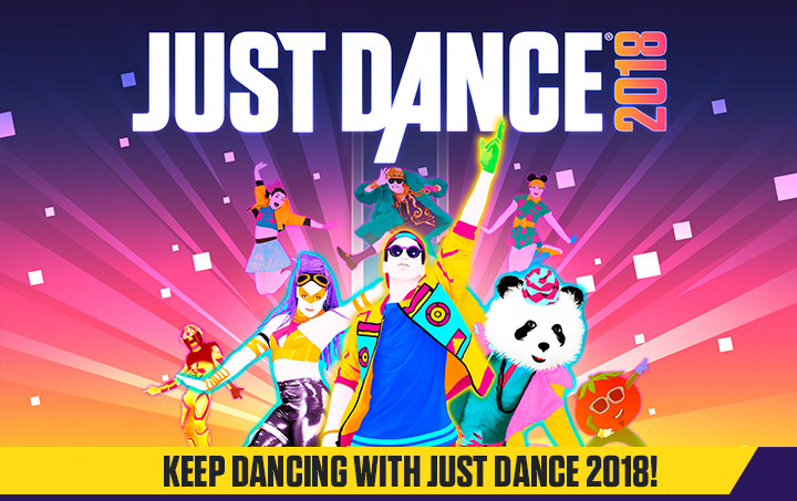 Когда выйдет just dance 2018