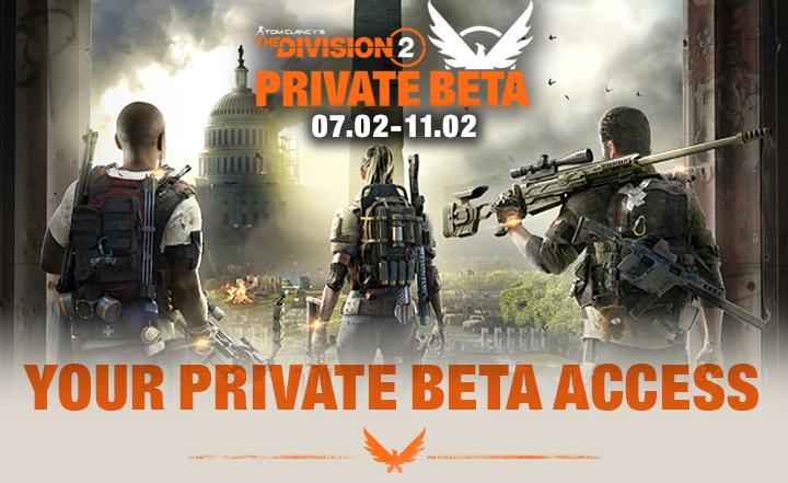 The Division 2 Beta Titel