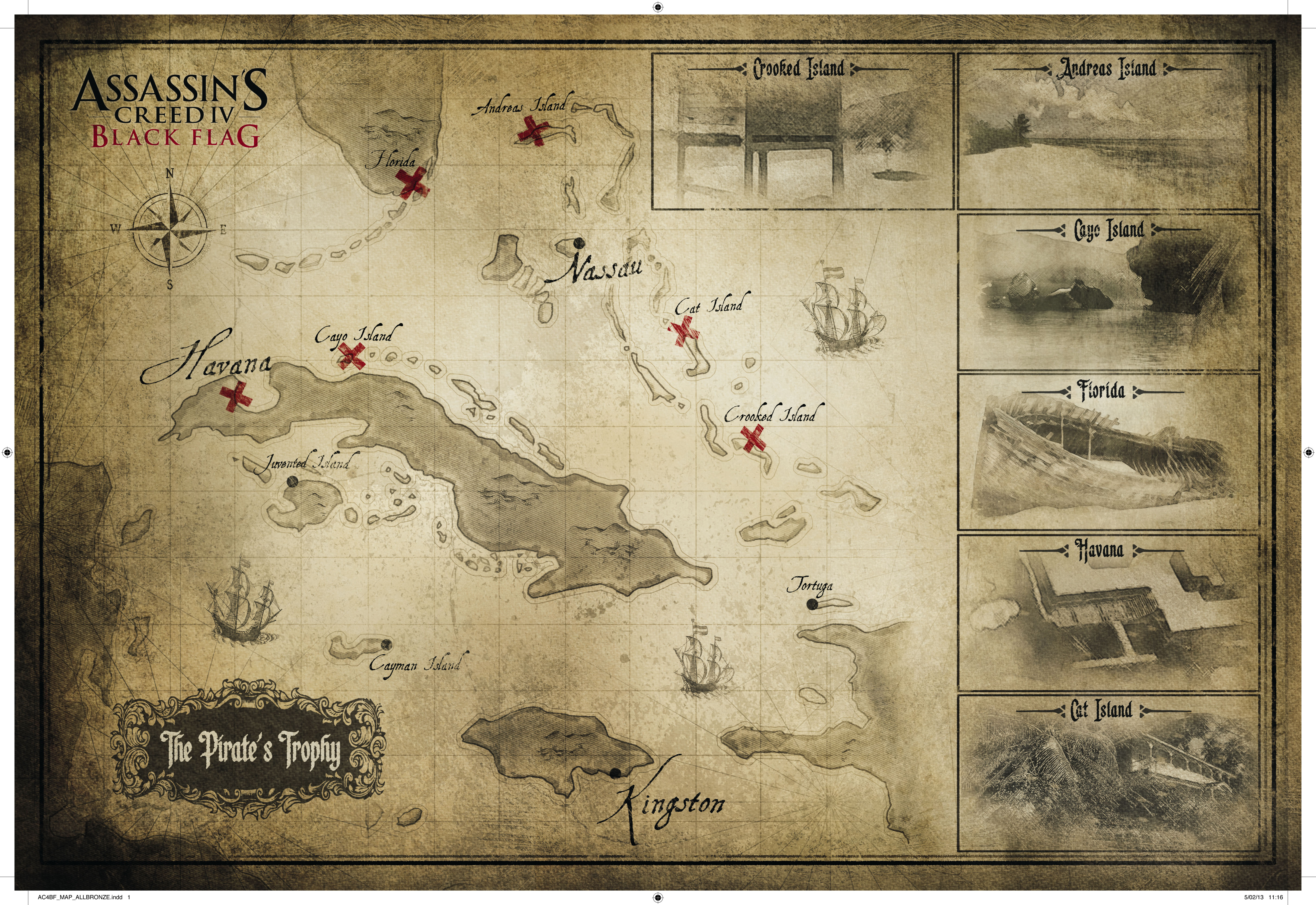 Cayman Black Flag Locations in Ac4 Black Flag