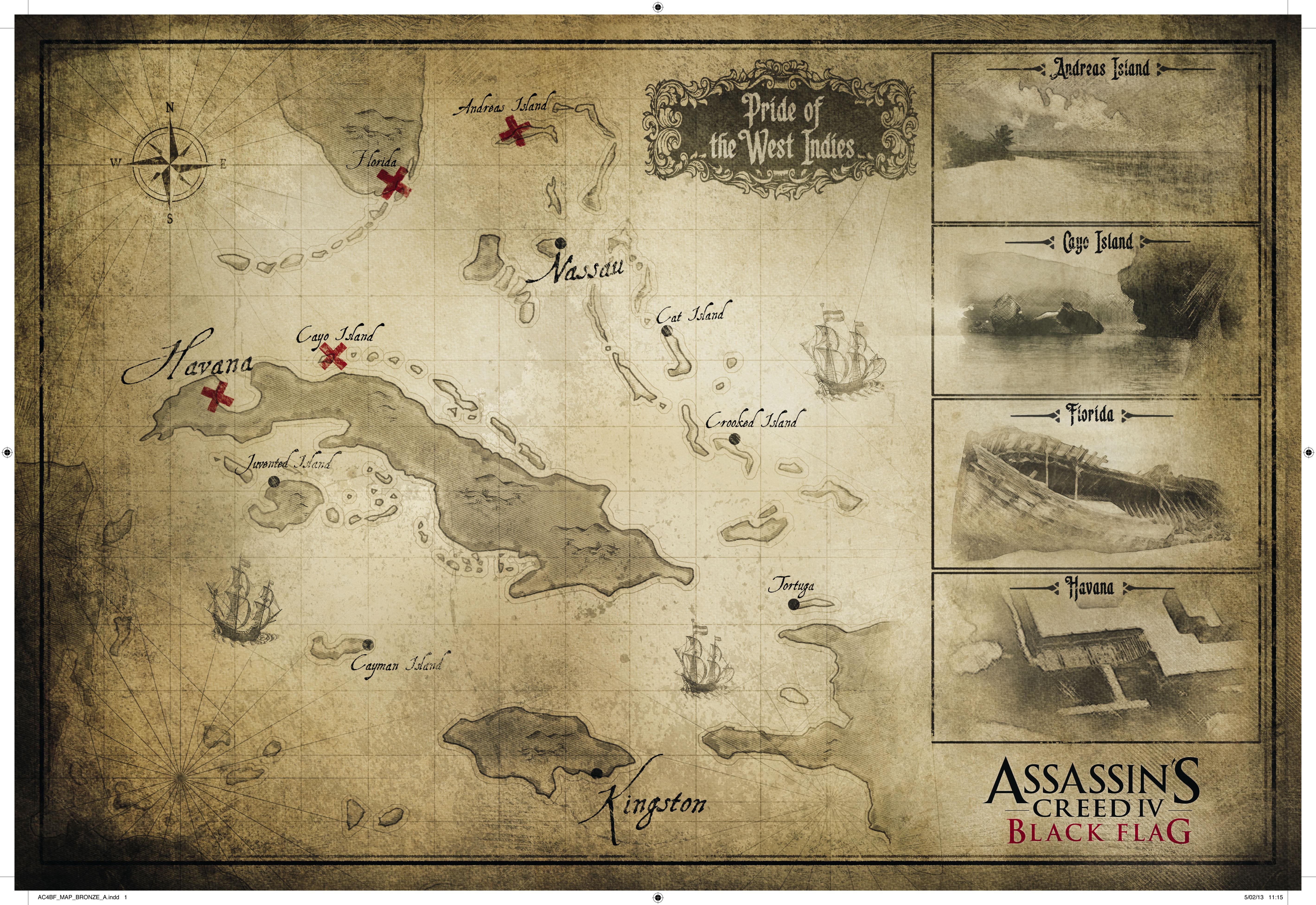 Скачать Assassin's Creed 4 Havana для Minecraft