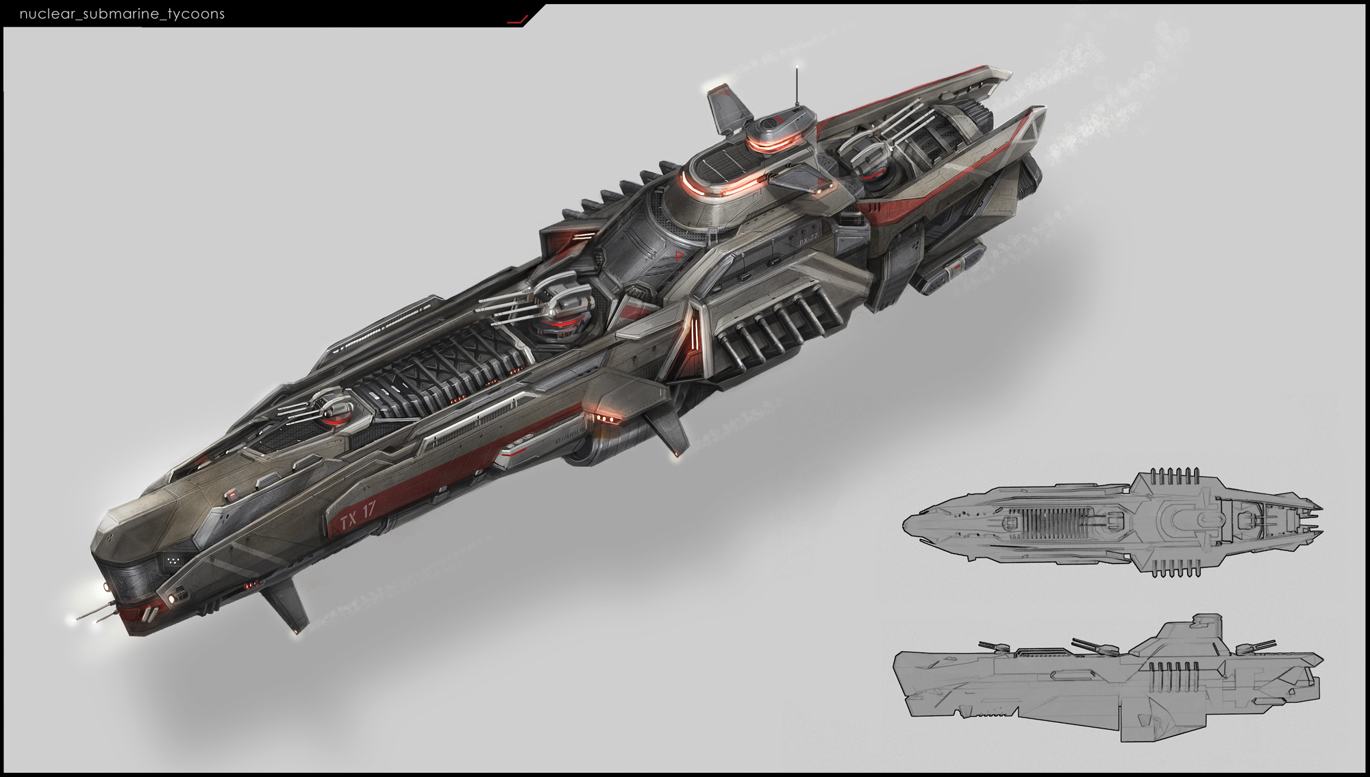 Nuclear submarine &quot