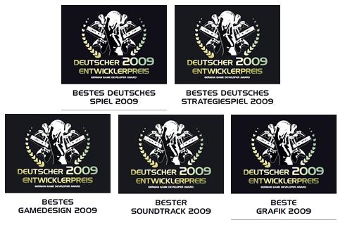 Deutscher Entwicklerpreis 2009: Auszeichnungen für ANNO 1404 (PC)
