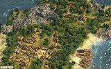 Abb.1: Eine kleine Siedlung mit eingeblendetem Straßennetz