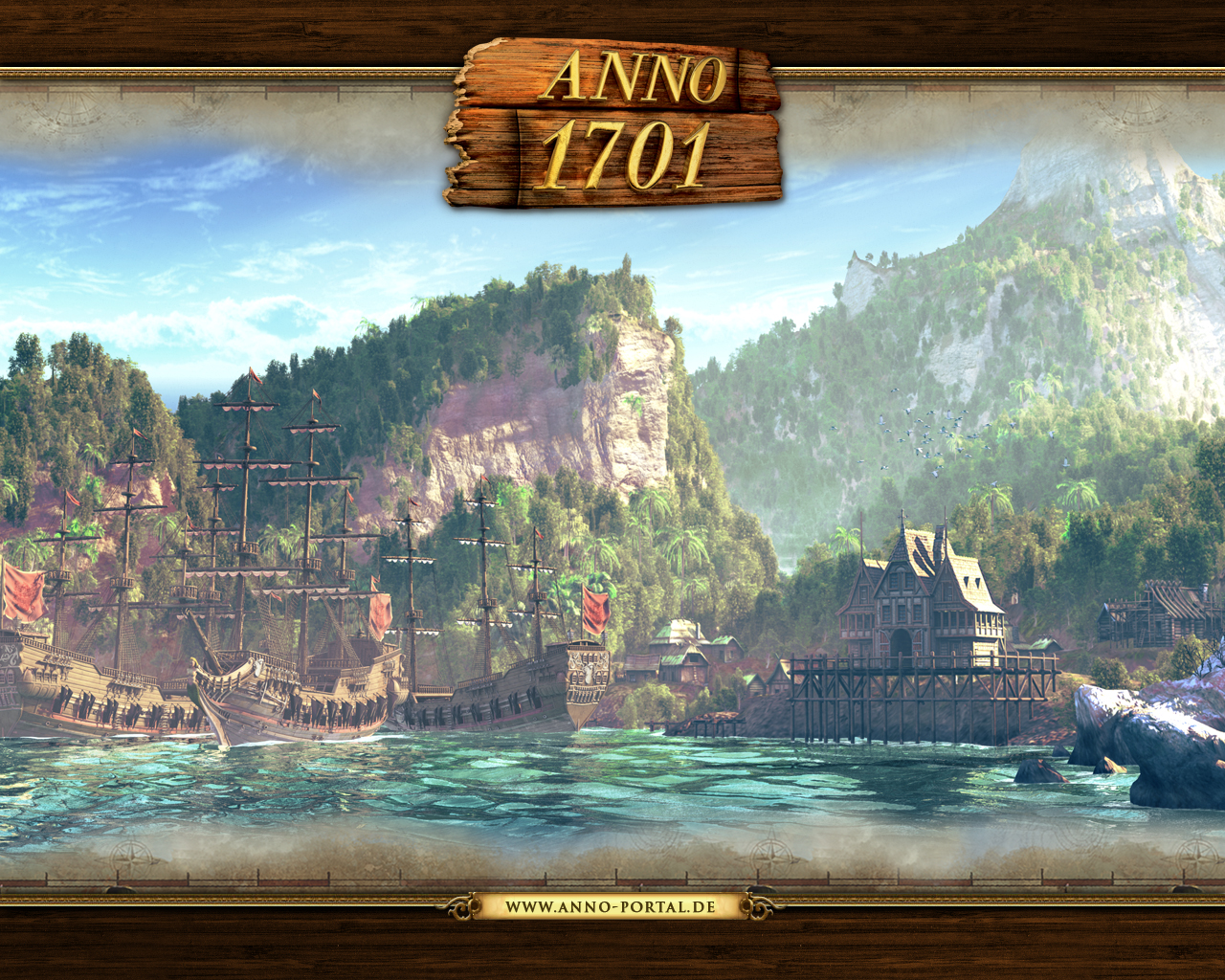 Anno Dawn of Discovery GAMES ANNO  Pinterest