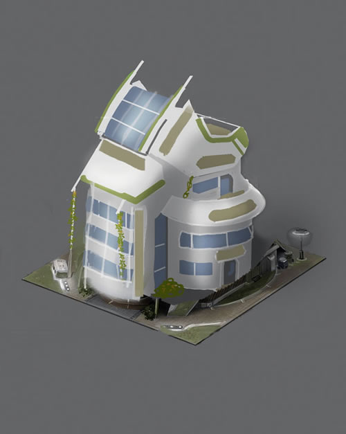 Anno  Best Eco Balance Building