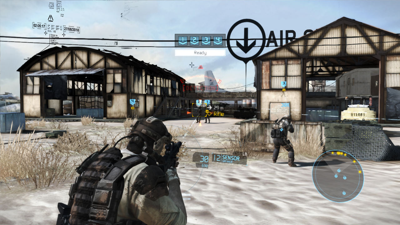 An example of the Augmented Reality HUD in Ghost Recon: Future ...