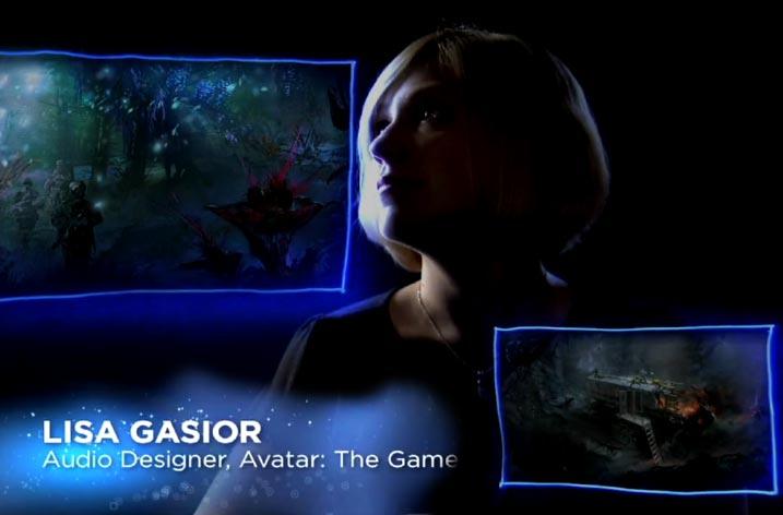 Sound Designer Lisa Gasior