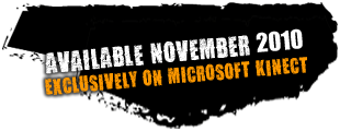 Available November 2010 Exclusively on Microsoft Kinect