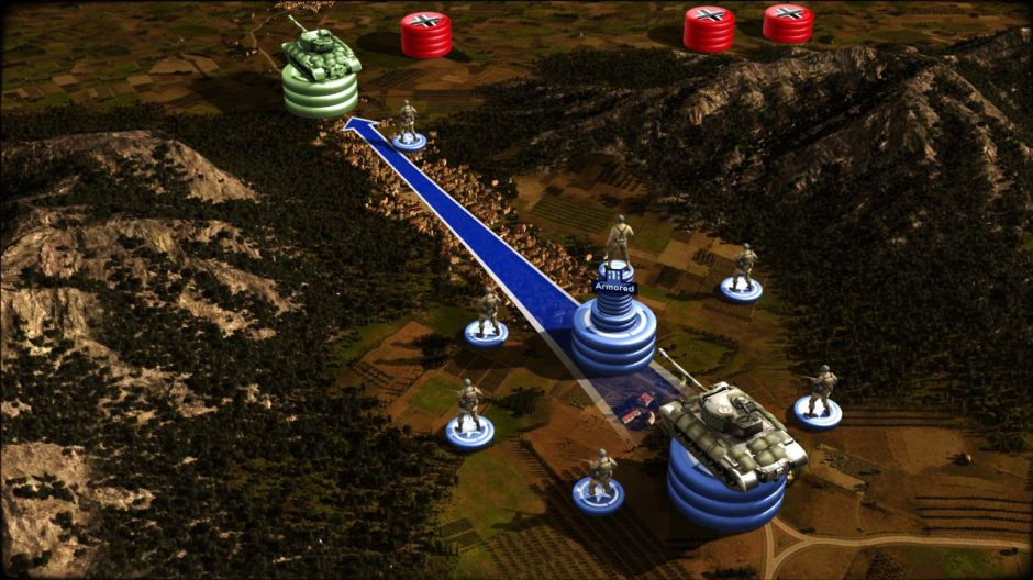 01 RUSE ALL Screenshot Troops movement 04 1280x720 RUSE RELOADED Full PC Free Download