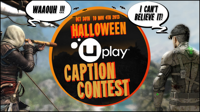Halloween Uplay Caption Contest
