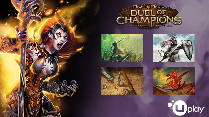 Might & Magic : Duel of Champions - Pack Forgotten Wars DISPONIBLE !
