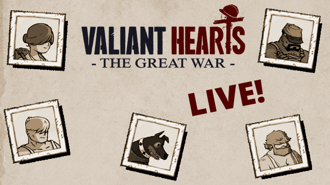 Valiant Hearts: The Great War is LIVE!