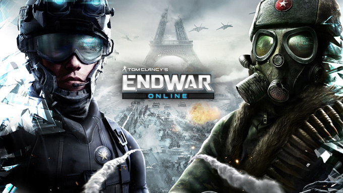 Enlist for tom clancy s end war online beta