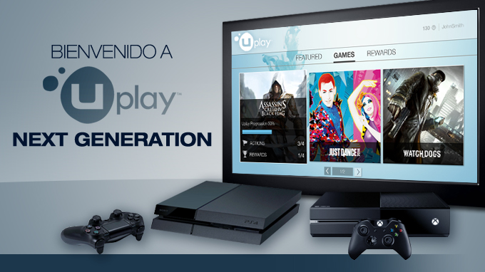 Explora la interfaz de Uplay para PS4 y Xbox One