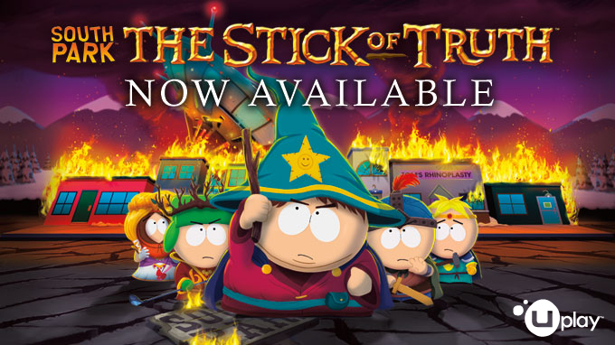 Now available on Uplay Shop - South Park: The Stick of Truth