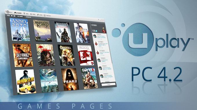 Uplay PC 4.2: In the spotlight... the Games page!