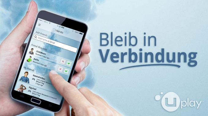 Uplay companion app bleib mit deinen freunden in verbindung