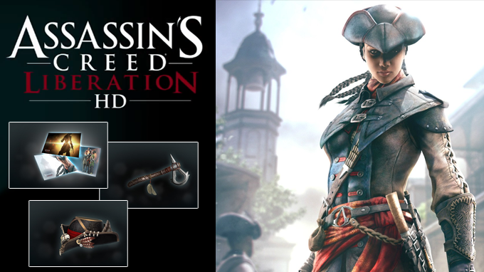 Assassin's Creed Liberation HD ist online: Entdecke die Uplay Actions und Rewards.