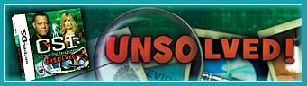 CSI: Crime Scene Investigation™: Unsolved!