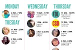 live stream schedule 12-01-14 - square
