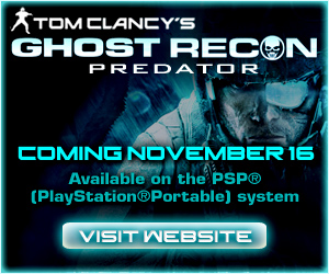 Tom Clancy's Ghost Recon Predator - Coming November 16