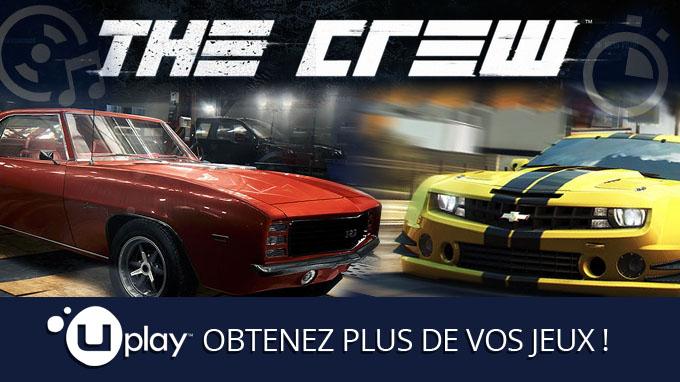The Crew: découvrez les Actions et les Récompenses Uplay!