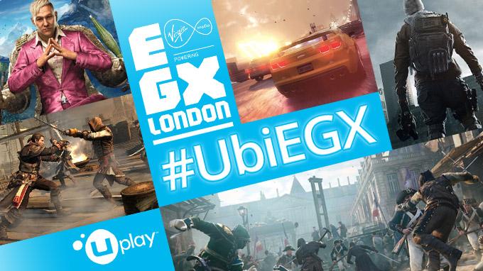 ¡Ubisoft en la Eurogamer Expo 2014!