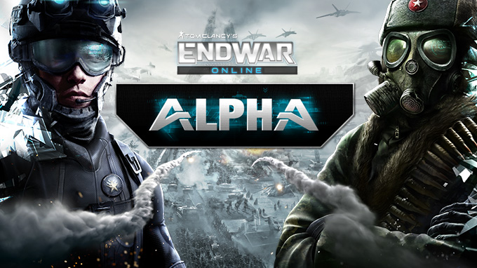 Enlist for the Tom Clancy's EndWar Online Alpha