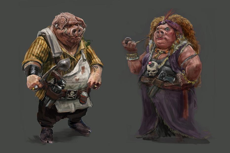 pig clones