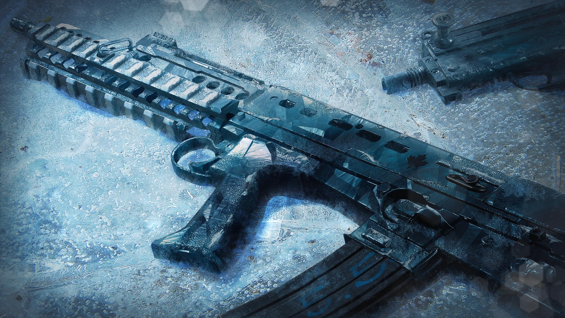 R6S SAS WeaponSkin BlackIce Season1 1080