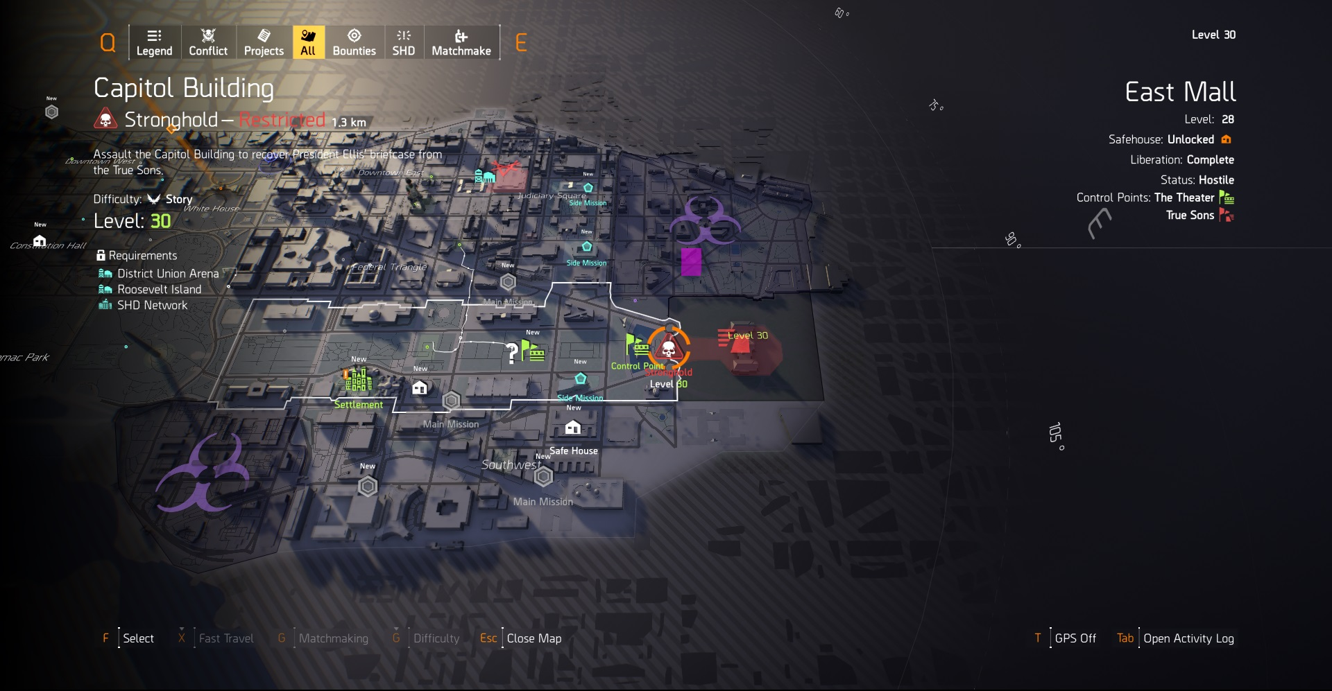 Undiscovered Missions when playing in Multiplayer | The